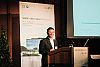 Presentation: Christof Wittwer, Department Intelligent Energy Systems, Fraunhofer ISE, Germany (Foto: SYMPOS)