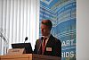 Vortrag Rolf Adam, Director Energy & Smart Grid EMEAR, Cisco Systems GmbH (Foto: SYMPOS)