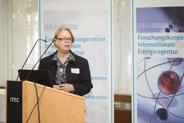 Carrie Pottinger (Programme Manager, Technology R&D Networks, IEA).
