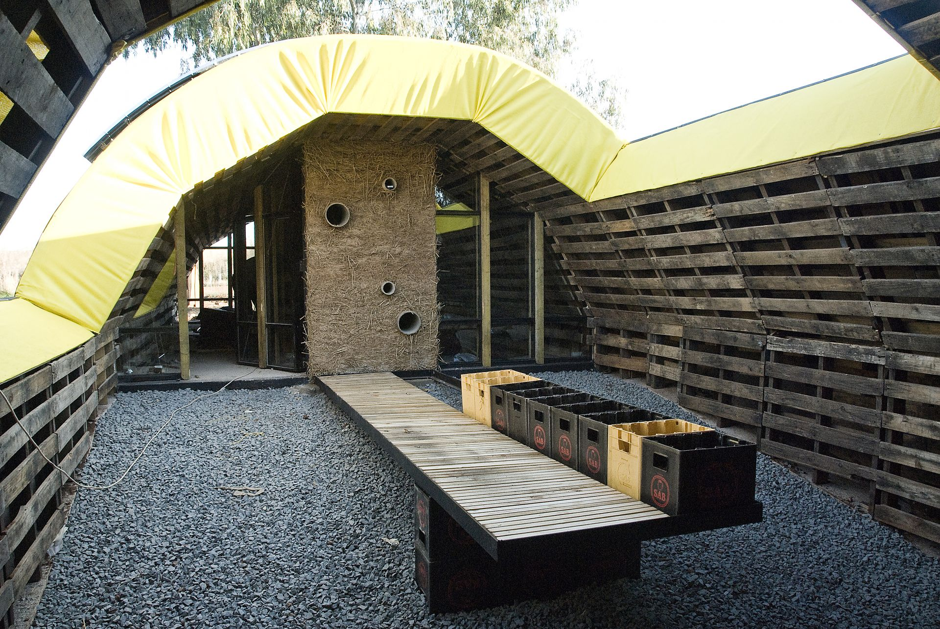 Pallets never pall - Development of the Pallet House to series ...