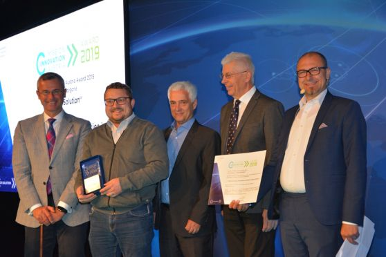 "Mission Innovation Austria Award 2019 für das Siegerprojekt in der Kategorie ""Tech Solution"