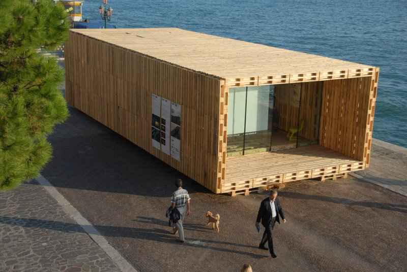 Pallets Never Pall  Development Of The Pallet House To Series