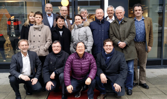 Taskmeeting in Uppsala, Schweden (2015)