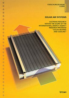 FORSCHUNGSFORUM 1/2000 - SOLAR AIR SYSTEMS